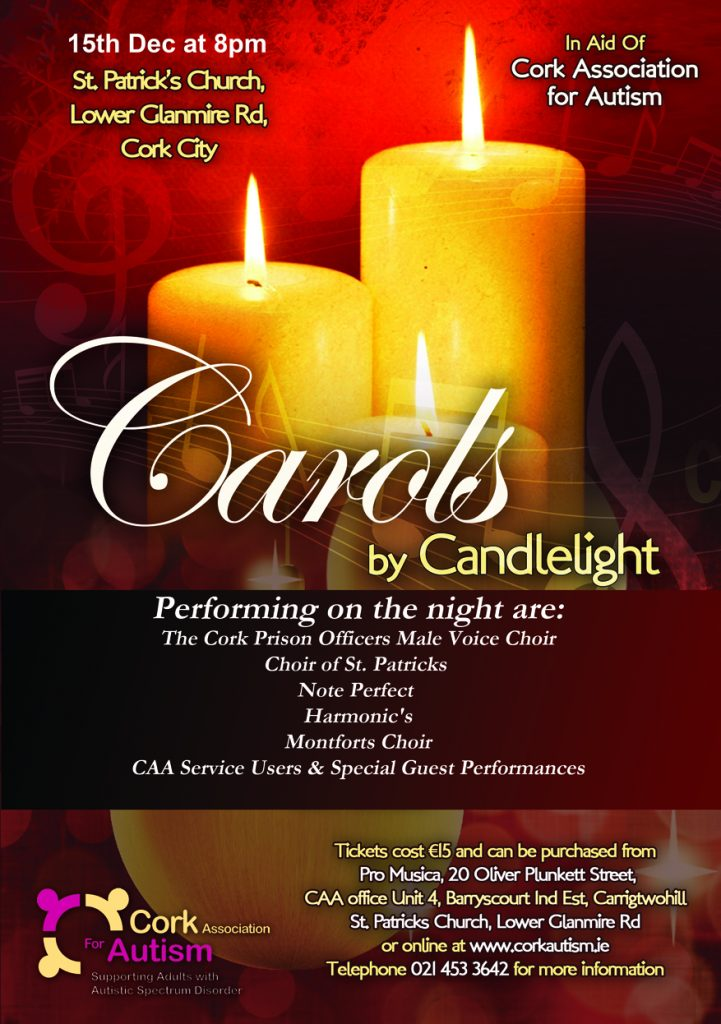 Carols By Candlelight Poster